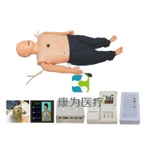 """""""康为医疗"""" 高级多功能急救训练标准化模拟病人(心肺复苏CPR、气管插管、除颤起搏四合一功能、嵌入式系统)"""