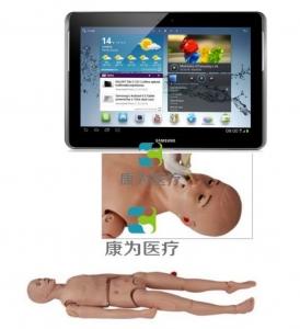 """太仓""""康为医疗"""" 移动无线交互三腔二囊管操作模拟人,IPAD三腔两囊管操作模型"""