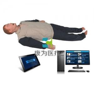 """""""康为医疗"""" 高智能数字化成人综合急救技能训练系统(ACLS 高级生命支持、计算机控制)无线版"""